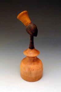 africaine statue en bois