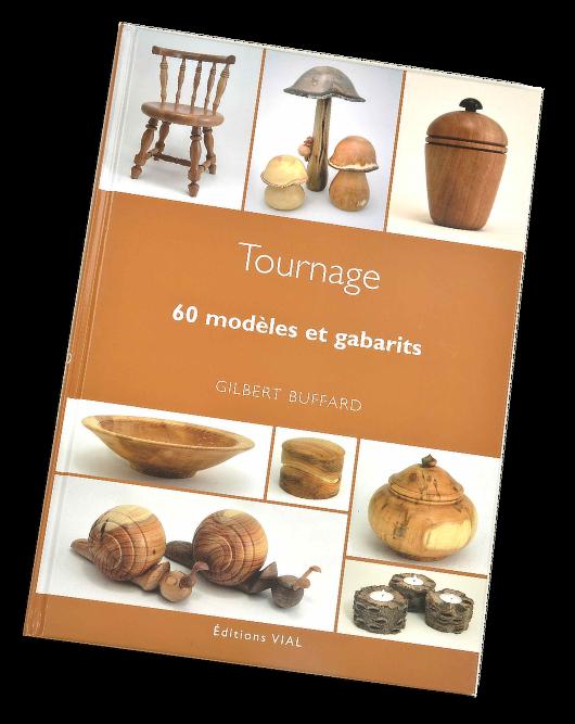 Livre sur les modèles d'objets en bois tourné