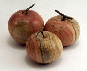 pommes en bois